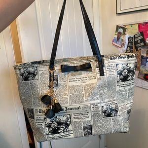 New York Journal Newspaper 🗞 Bow Rare Tote Bag